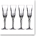 Marquis by Waterford Crystal Maxwell Flute Set of Four
