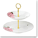 Royal Albert Everyday Friendship Cake Stand Two-Tier White