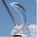 Waterford Crystal Jumping Dolphin Sculpture Paperweight