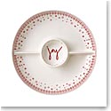 ED Ellen DeGeneres by Royal Doulton Holiday 3-Section Divided Server