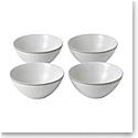 """Royal Doulton Gordon Ramsay Maze Grill White Bowl 6"""" Set of 4 Mixed"""