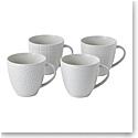 Royal Doulton Gordon Ramsay Maze Grill White Mug 12.6 Oz Set of 4 Mixed