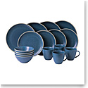 Royal Doulton Gordon Ramsay Maze Grill Blue 16-Piece Set Hammer