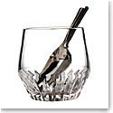 Waterford Crystal Irish Dogs Madra Ice Bucket With Scoop