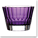 "Waterford Crystal Fleurology Jeff Leatham Icon Bowl 9"" Amethyst"
