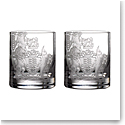 Waterford Crystal Master Craft Crest Tumbler Pair, Limited Edition