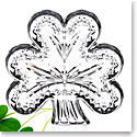 Waterford Crystal Heritage Irish Shamrock Paperweight