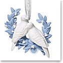 Wedgwood 2019 Annual Two Turtle Doves Christmas Ornament