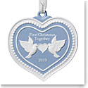 Wedgwood 2019 Our 1st Christmas Ornament
