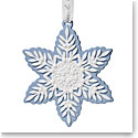 Wedgwood 2019 Figural Snowflake Christmas Ornament