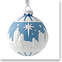 Wedgwood 2019 Nativity Christmas Ornament