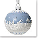 Wedgwood 2019 Winter Walk Christmas Ornament