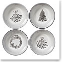 Wedgwood 2019 Winter White Nibble Bowl Set of Four