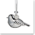 Waterford Crystal 2019 Silver Robin Christmas Ornament