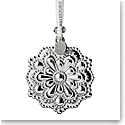 Waterford Crystal 2019 Silver Snowflake Christmas Ornament