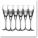 Waterford Crystal Mara Flute 10oz. Set of 6