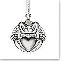 Waterford Crystal 2019 Claddagh Christmas Ornament