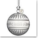 Waterford Crystal 2019 Ogham Blessed Ball Christmas Ornament