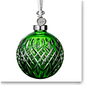 Waterford Crystal 2019 Emerald Ball Christmas Ornament