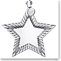 Waterford Crystal 2019 Star Christmas Ornament Blank