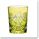 Waterford Crystal, Snowflake Wishes Prosperity Prestige Edition, Lime Crystal DOF Tumbler 2019