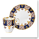 Royal Albert 100 Years 1900 2-Piece Set Mug and Plate Regency Blue