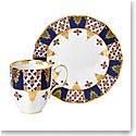Royal Albert 100 Years 1900 2-Piece Set Mug & Plate Regency Blue