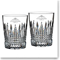 Waterford Crystal 2018 MLB World Series Boston Red Sox Lismore Diamond DOF, Pair