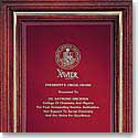 Crystal Blanc, Personalize! Cherry Award Plaque Frame, Small