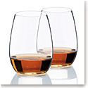 Riedel O Stemless, Fortified Wines Spirits Wine Glasses, Pair