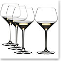 Riedel Crystal Extreme Oaked Chardonnay Value Gift Set, Buy 3 glasses Get 4