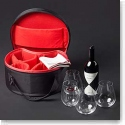 Riedel O Stemless, BYO Bag Syrah Crystal Wine Glasses, Set With 4 Big O Tumblers