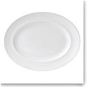 """Wedgwood Wedgwood White Oval Platter 13.75"""""""