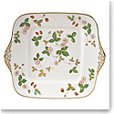 Wedgwood Wild Strawberry Cake Plate Square
