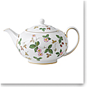 Wedgwood Wild Strawberry Teapot 1.4 Pt, 26.9oz.