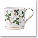 Wedgwood Wild Strawberry Mug 0.5 Pt, 9.6oz.