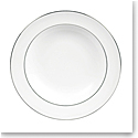 "Vera Wang Wedgwood Blanc Sur Blanc Rim Soup 9"""