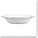 Vera Wang Wedgwood Blanc Sur Blanc Open Vegetable Bowl Oval 9.75""