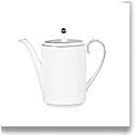 Vera Wang Wedgwood Blanc Sur Blanc Coffeepot 1.3 Ltr, 44oz.