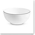 "Vera Wang Wedgwood Blanc Sur Blanc Soup, Cereal Bowl 6"""