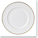 Vera Wang Wedgwood Golden Grosgrain Dinner Plate 10.75""