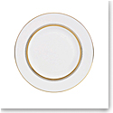 Vera Wang Wedgwood Golden Grosgrain Accent Salad Plate 9""