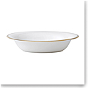 Vera Wang Wedgwood Golden Grosgrain Open Vegetable Bowl Oval 9.75""