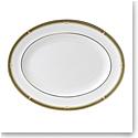 "Wedgwood Oberon Oval Platter 13.75"" Border"
