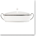 Vera Wang Wedgwood Vera Lace Covered Vegetable Dish