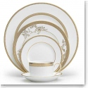 Vera Wang Wedgwood China Vera Lace Gold, 5 Piece Place Setting
