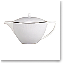 Wedgwood Jasper Conran Pin Stripe Teapot 1.7 Pt, 32.7oz.