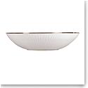 "Wedgwood Jasper Conran Pin Stripe Soup Plate 9"""