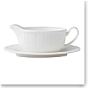 Wedgwood Nantucket Basket Gravy Stand