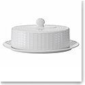 Wedgwood Nantucket Basket Covered Butter